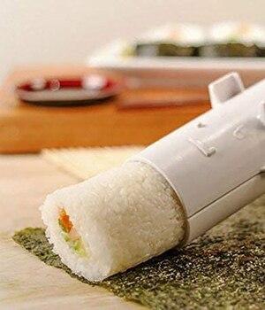 Машина для приготовления суши, роликовая форма для риса, суши Bazooka, инструмент для приготовления овощей, мяса, сделай сам, машина для пригото...