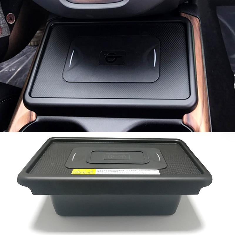Pour Honda CRV CR-V 2017 2018 2019 10W voiture QI sans fil chargeur de téléphone plaque de charge support pour téléphone accessoires pour iPhone