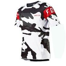 2021 Men's Downhill Jerseys http Fox Mountain Bike MTB Shirts Offroad DH Motorcycle Jersey Motocross Sportwear Clothing FXR Bike