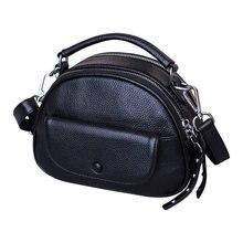 Genuine Leather Luxury Small Crossbody Bag for Women Handbag