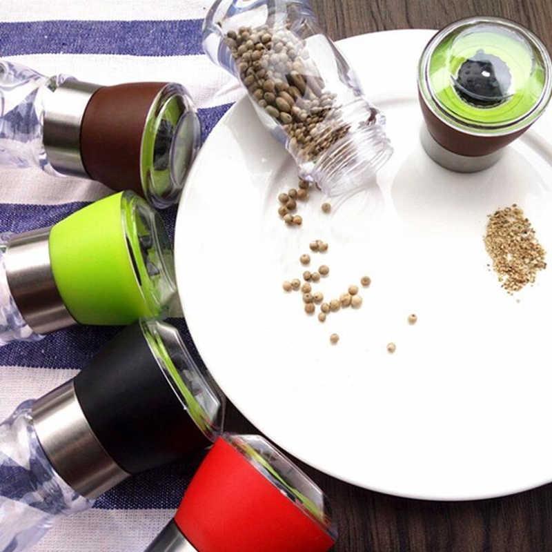 جديد دليل الملح الفلفل مطحنة التوابل مولر اكسسوارات المطبخ تجهيزات المطابخ التوابل طحن أداة رائجة البيع أدوات الطبخ