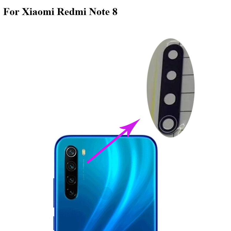 2pcs High Quality For Xiaomi Redmi Note 8 Back Rear Camera Glass Lens Test Good For Xiaomi Mi Red Mi Note8 Replacement Parts Mobile Phone Camera Modules Aliexpress