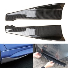 Car Bumper Spoiler Rear Lip Side Skirt Extension Splitter Winglet Wing Kit