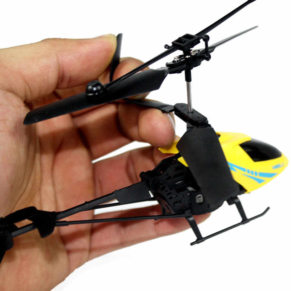 RC 901 2CH طائرة مروحية مصغرة راديو التحكم عن بعد الطائرات مايكرو 2 قناة مصابيح ملونة للرؤية الليلية لعب طفل الأطفال هدية