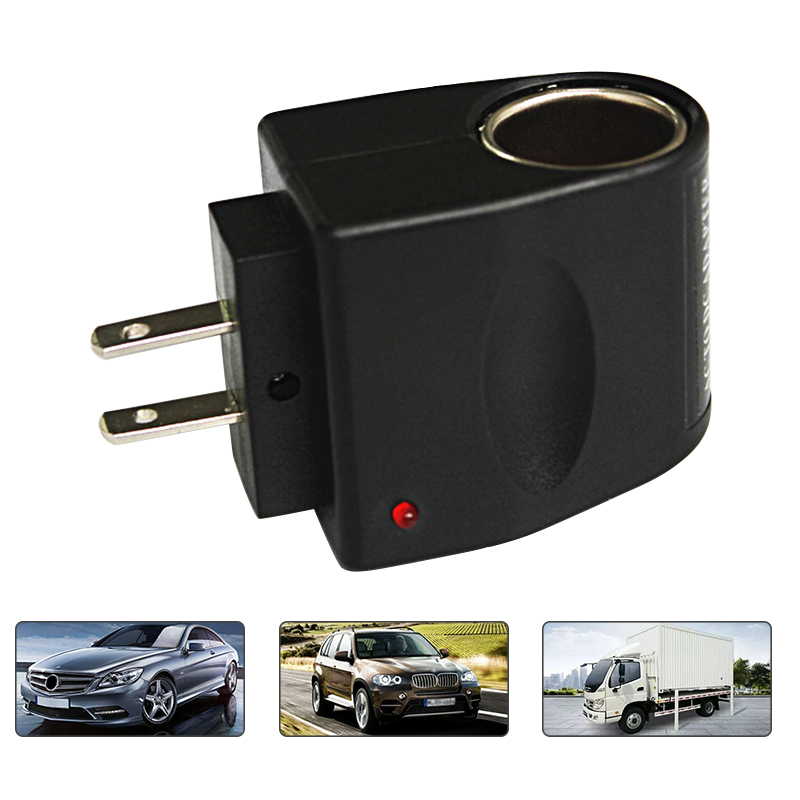 <font><b>220v</b></font> to <font><b>12v</b></font> power <font><b>adapter</b></font> for household cigarette <font><b>lighter</b></font> Converter <font><b>Car</b></font> Cigarette <font><b>Lighter</b></font> <font><b>Adapter</b></font> Auto Accessories image