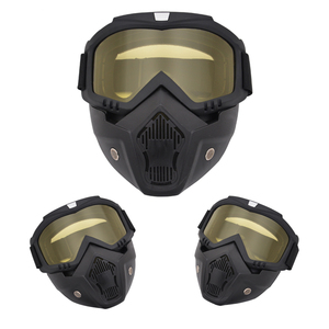 Image 4 - Outdoor Cycling Airsoft Mask Full Face Helmet Paintball Mask Airsoft Safety Protective Anti fog Goggle Protective Tactical Mask