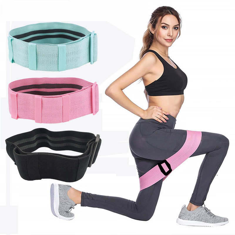 Fitness Resistance Bands Pilates Rubber Loop Hip Circle Sport Elastic Training Equipment Workout Yoga Belt Gym Crossfit Exercise