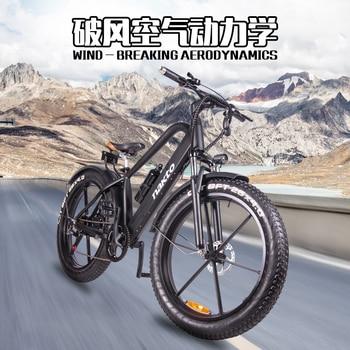 Motos eléctricas para adulto 26 pulgadas 500W ebikes 48V10AH batería de litio potente moutation nieve bicicleta eléctrica para playa