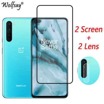 Full Cover Tempered Glass For OnePlus Nord Screen Protector For OnePlus Nord 8Nord 8T 8 Pro Camera Glass For OnePlus Nord Glass oneplus x premium tempered glass screen protector