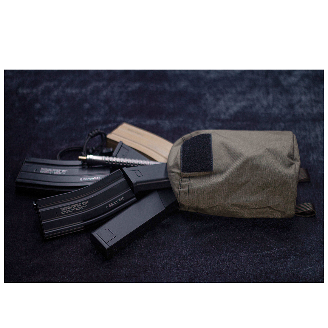 BF Orion New Arriving Tactical Hunting Dump Pouch Foldable Magazine Storage Bag Recycle Pouch For Outdoor Airsoft- RG