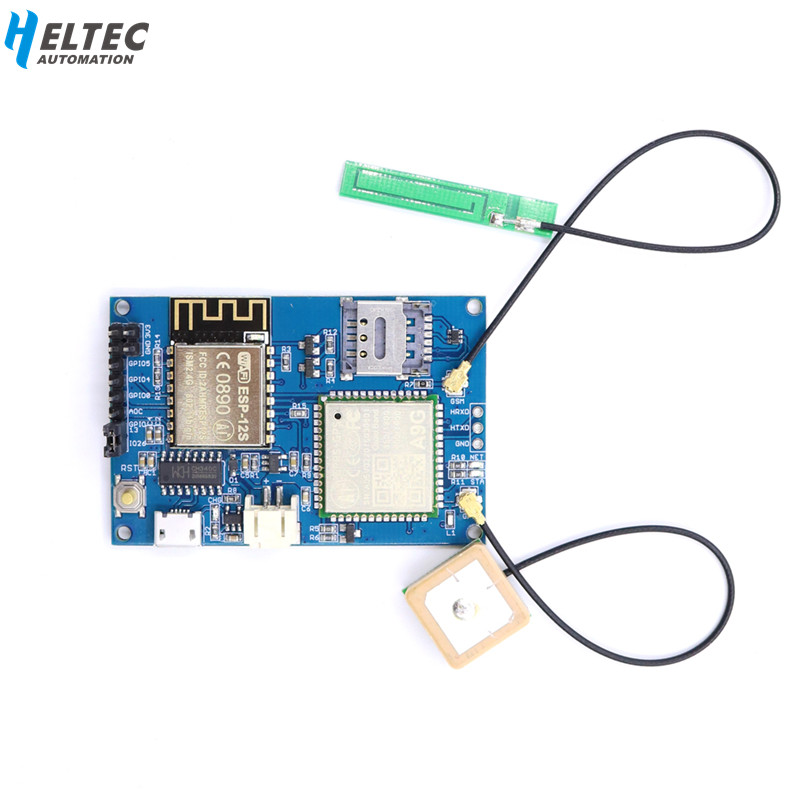 ESP8266 ESP-12S WIFI GPS Tracking Module A9G Module GPRS GSM GPS Board GPRS DIY Kit GPS Wireless  For Arduino Support MQTT
