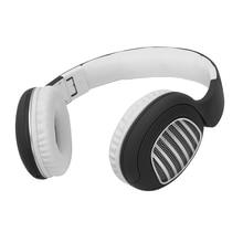 BINAI V79 Беспроводная bluetooth-гарнитура C-type AUX складные басовые стерео наушники с микрофоном гарнитура игровая гарнитура-черный+ Whi
