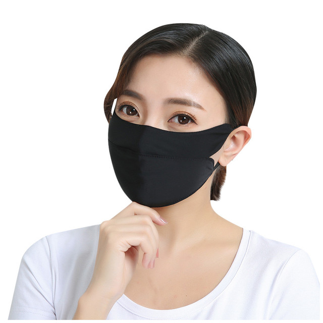 Adult Cotton PM2.5 Mouth Mask Cute Solid Anti Haze Dust Mask Windproof Face Flu Washable Fabric Cloth Respirator @A30 4