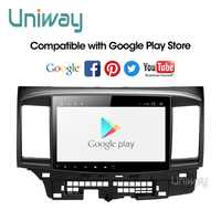 Uniway PX30 DSP Android 9.0 auto dvd für Mitsubishi Lancer 10,1 zoll 2008 2009 2010 2011 2012 2013 2014 2015 auto stereo navigator