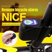 Anti theft Bike Lock Alarm Cyclings Security Wireless Remote Control Vibration BHD2|Bicycle Lock| |  -