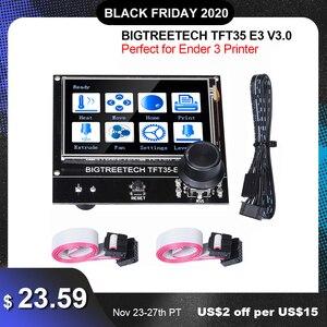 Image 1 - BIGTREETECH TFT35 E3 V3.0 Touch Screen 12864 Display LCD Wifi TFT35 parti della stampante 3D per Ender3 aggiornamento CR10 SKR MINI E3 Board