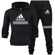 2021 nova marca de venda quente de duas peças com capuz roupas esportivas masculino e feminino roupas esportivas ginásio treinamento de fitness terno masculino