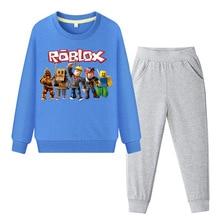 Girls Long Sleeve Children Set Animals Kids Boy Suits Boys