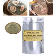 2 Bags Pure herbal whitening freckle Soft Face Mask Powder Removal melasma Acne