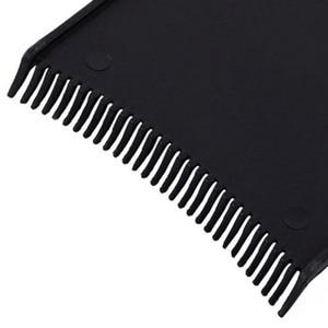Image 5 - Plaque de coloration pour Salon de coiffure, en plastique professionnel noir, plaque de coloration pour coiffeur, accessoires de coiffure, outils de coiffure, 1 pièce