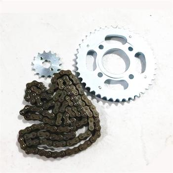 Motorcycle Spare part Chain set with gear sprocket for Honda CBT125 CBT 125 125cc
