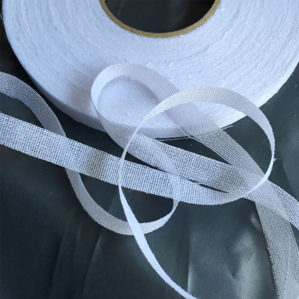 Single Lining Cloth Garment Accessories Lining Webbing Tape Applique Hemming 50M