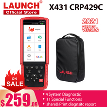 Code-Reader-Scanner Car-Diagnostic-Tool Launch X431 OBD2 Functions Special CRP429C CRP129E