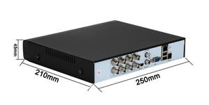 Image 2 - XMeye Viso Rilevare Audio H.265 + Hi3521D 5MP 8CH 8 Canali di Sorveglianza Video Registratore Hybrid WIFI 6 in 1 TVI CVI NVR AHD CCTV DVR