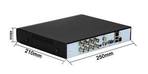 Image 2 - XMeye visage détecter Audio H.265 + Hi3521D 5MP 8CH 8 canaux Surveillance enregistreur vidéo hybride WIFI 6 en 1 TVI CVI NVR AHD CCTV DVR