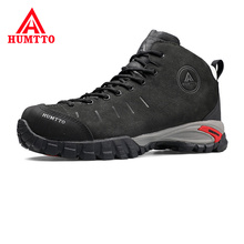 Lace-up Casual Mens Shoes Brand Waterproof Genuine Leather M