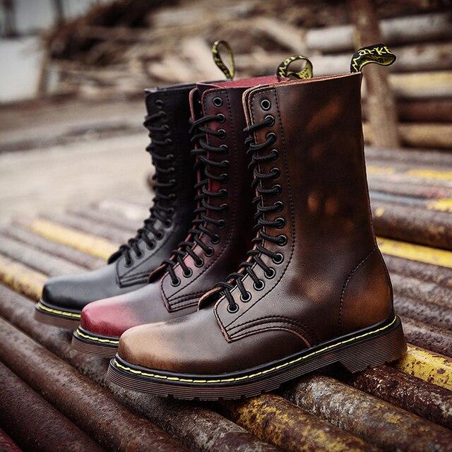 Мужские походные ботинки берцы для походов 5