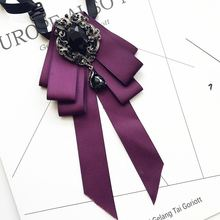 Британский Корейский ручной работы галстук жениха Свадебный