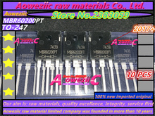 Aoweziic 2017 + 100% Nieuwe Geïmporteerde Originele MBR60150PT 60A 150V MBR60200PT 60A 200V Tot 247 Schottky diode