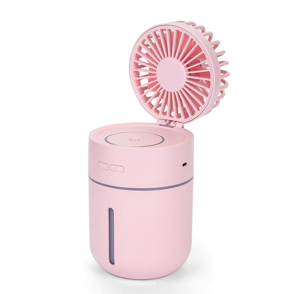 9,4*9*15,7 см вентилятор с увлажнением автомобильный офисный увлажнитель воздуха USB настольный ночник вентилятор для путешествий портативность поставки вечерние подарки - 4