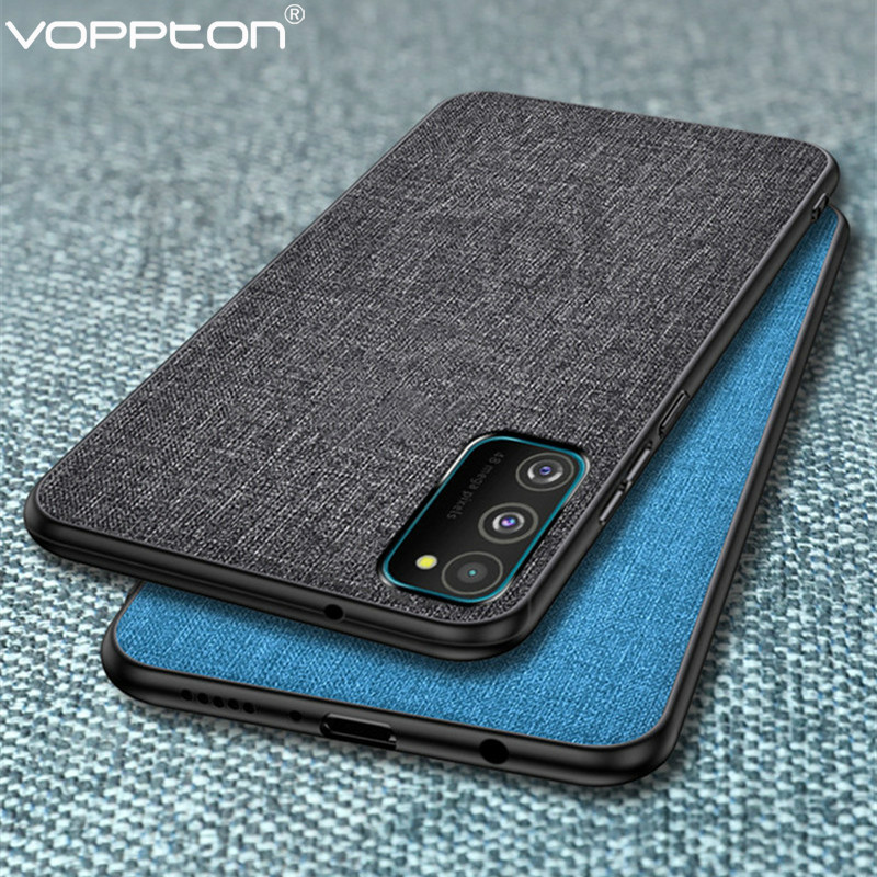 Cloth Case For Samsung Galaxy Note 10 lite S10 lite Phone Case  Soft TPU Frame Hard PC Back Cover For Samsung Note10 lite