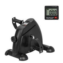 Домашний тренажер фитнес ЖК-педаль с дисплеем велотренажер внутренний Мини Велотренажер оборудование для похудения