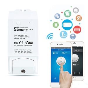 Image 3 - Sonoff TH10/16A スマート無線 lan スイッチ監視ワイヤレスプローブ温度湿度センサースイッチ無線 lan スマートホームリモコン