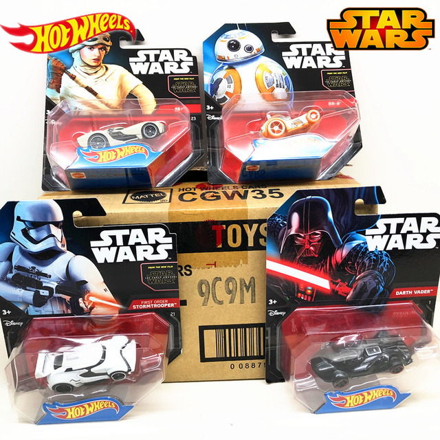 Genuine Hot Wheels Star Wars Classic Movie Theme Series Role Car  Model Collection Toys of Children Boys Birthday Gift CGW35 1