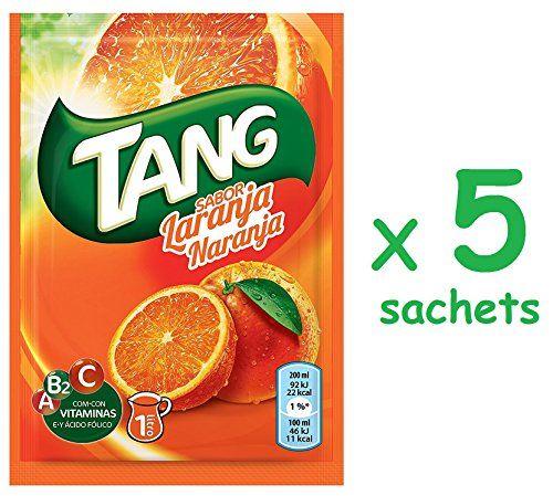 Cmagic® Tang Orange 5 Sachets De 30g Soit 5 Litres, Avec Vitamines A B2 C Et Acide Folique