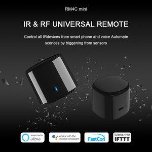 Image 2 - Broadlink Bestcon RM4C Mini télécommande universelle IR 4G WiFi IR fonctionne avec Alexa Google Assistant domotique intelligente