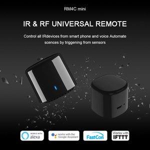 Image 2 - Broadlink mando a distancia Bestcon RM4C Mini, Universal, IR, 4G, WiFi, IR, funciona con asistente de Google, Alexa, automatización inteligente del hogar