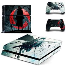 Anime Naruto Full Cover PS4 Stickers Play station 4 Skin Sticker Decal For PlayStation 4 PS4 Console & Controller Skins Vinyl