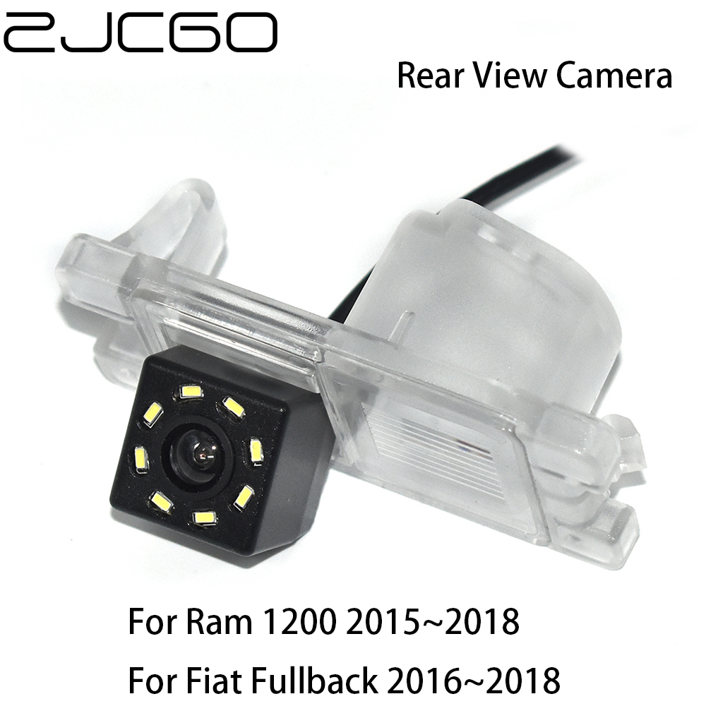 ZJCGO HD CCD Car Rear View Reverse Back Up Parking Night Vision Waterproof Camera For Fiat Fullback Ram 1200 2015~2020