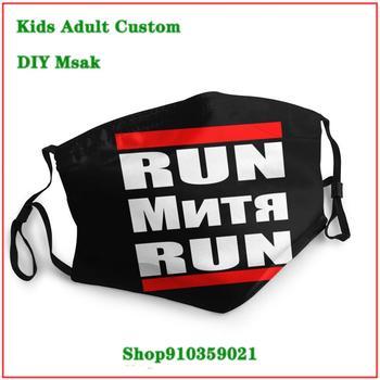 Fashion RUSSIAN RUN RUN DIY face mask fashion mask for face masks mascarilla reutilizable mascara reutilizable con filtro