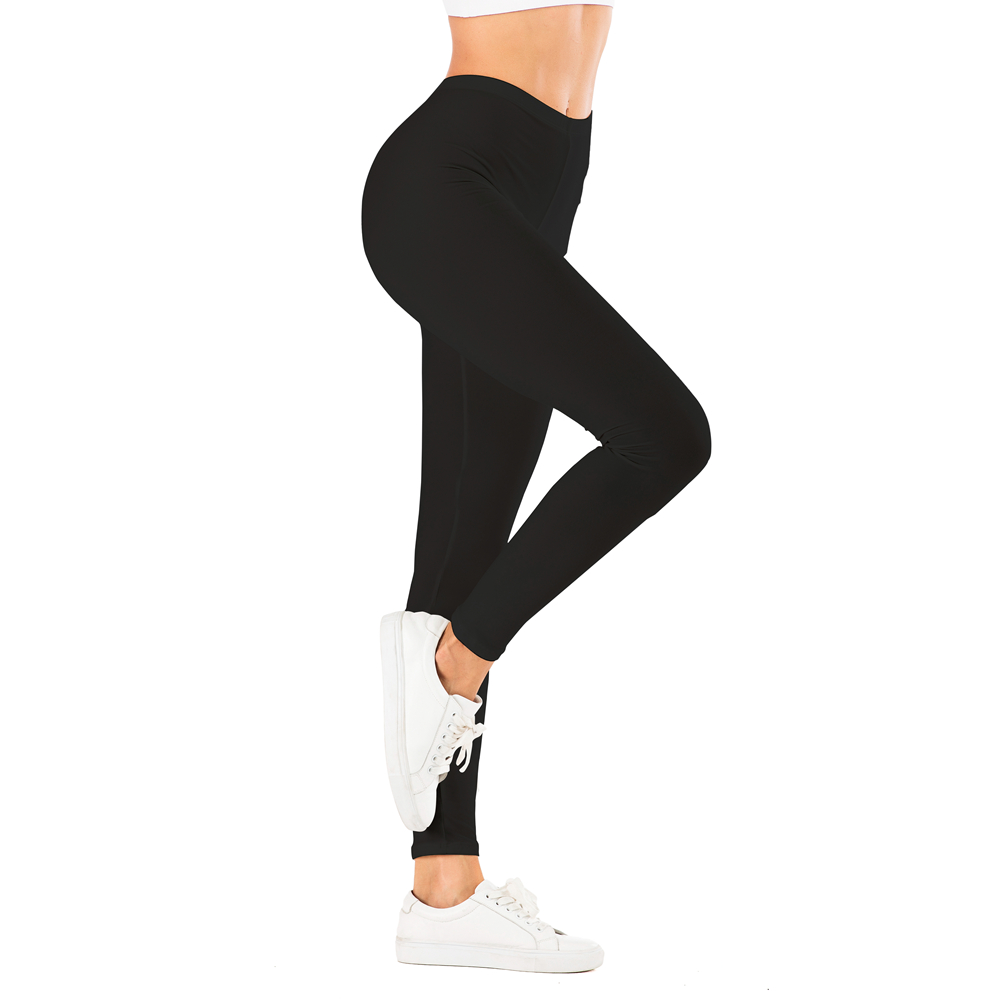 Brand Sexy Women Black Legging Fitness Leggins Fashion Slim Legins High Waist Leggings Woman Pants