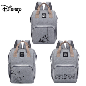 Disney Minnie Mickey Diaper Bag Backpack for Mummy Maternity Bag for Stroller Bag Large Capacity Baby Nappy Bag Organizer New(China)