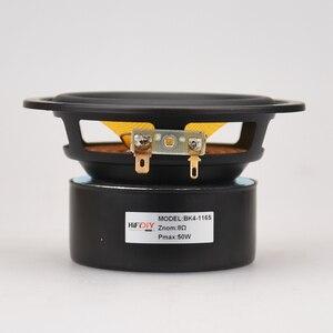 "Image 4 - HIFIDIY لايف HIFI 4 بوصة 4.5 ""Midbass مكبر الصوت وحدة مكبر الصوت 4 / 8 أوم 50 واط الألياف الزجاجية اهتزازي حوض مكبر الصوت BK4 116S"