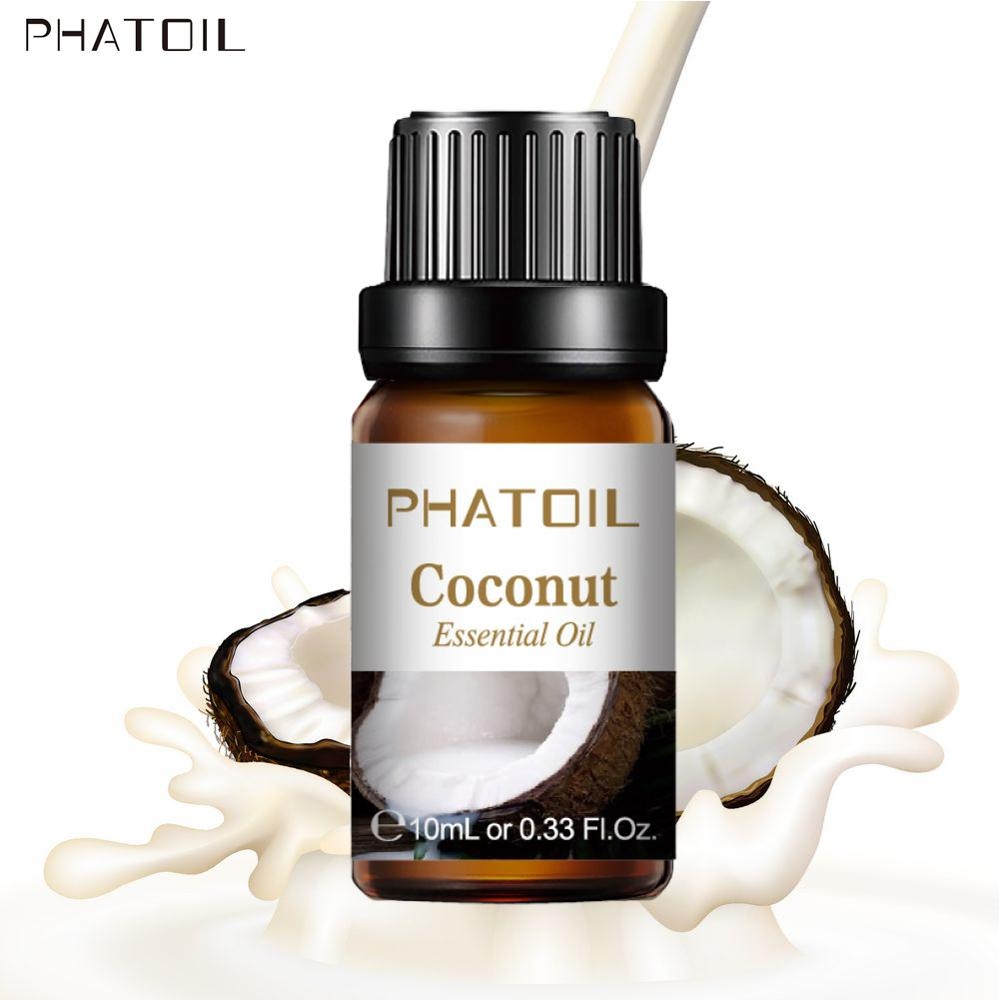 Coconut Fragrance Oil 10ML Diffuser Aroma Essential Oils Apple Mango Orange Strawberry Cherry Lime Passion Fruit For Soap Candle