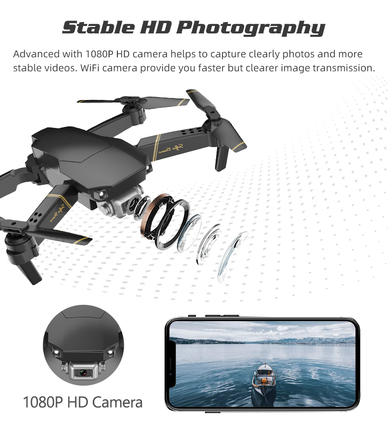 Try Global Drone Gd89 Dron With Hd Camera 1080p Live Video Rc Helicopter Fpv Quadrocopter Drones Vs Drone E58 E520