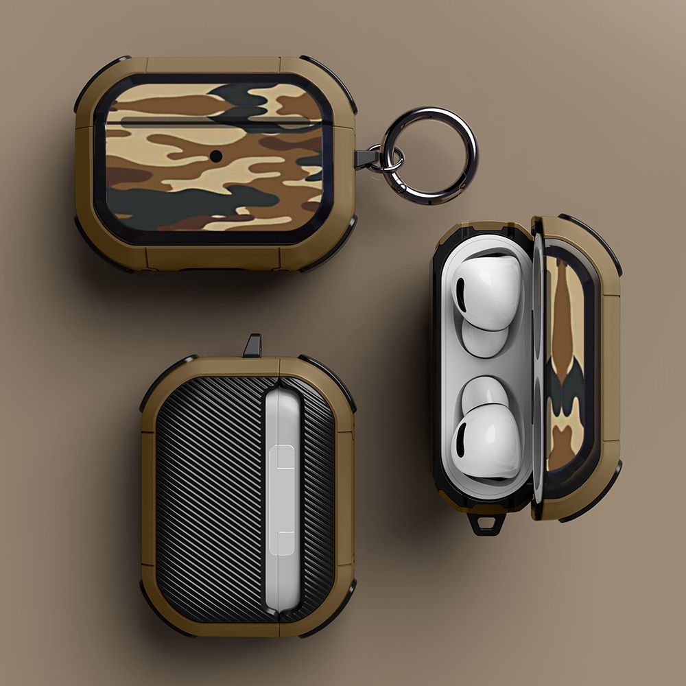 Cover For Airpods Pro Case TPU Pattern Anti fall Cover For Apple AirPods 3 2 Case Accessories Wireless Earphone With Keychain
